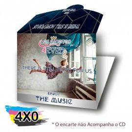 500  ENVELOPE CD E DVD ENCAIXE SIMPLES COUCHÊ 250G VERNIZ UV TOTAL F