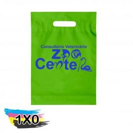 100 Sacolas Personalizadas Plasticas