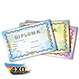 02 Certificados 300x210mm Couchê 275g