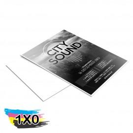 500 Panfletos Apergaminhados 150x210mm