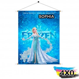 01 Banner Lona Front Light 440g 200x400mm